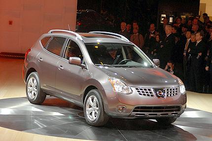 Nissan on El Nissan Rogue Es Un Crossover Utilitario Compacto Con Capacidad Para