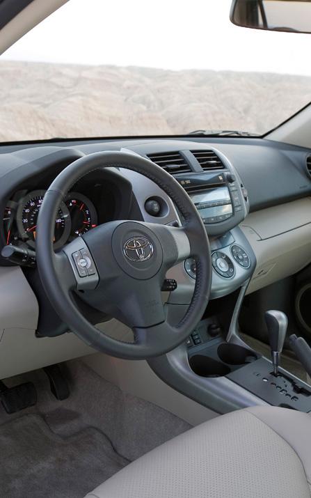 Toyota Rav4 2008 Interior. Toyota RAV4 interior