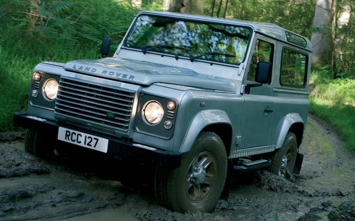 Land Rover Defender 90 SW