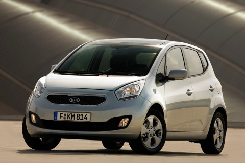 KIA Venga 1.6 CRDi 128 CV-frente