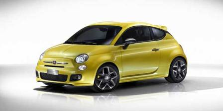Fiat Concept 500 Coup Zagato-frente