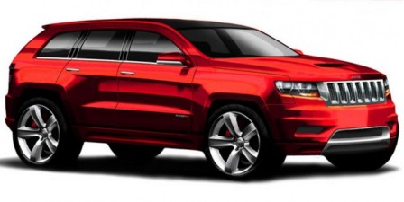 Jeep Grand Cherokee SRT8-frente
