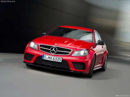 Mercedes-Benz C 63 AMG Coup Black Series-frente