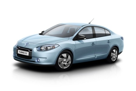 Renault Fluence Z.E.-frente