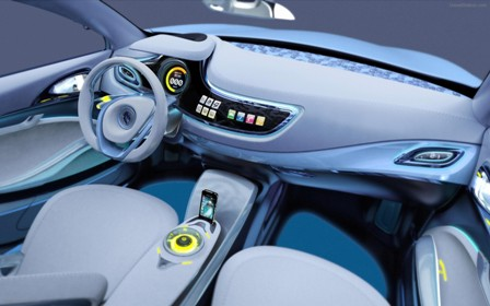 Renault Fluence Z.E.-interior