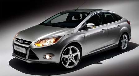 Ford Focus 2012-frente