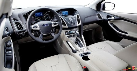 Ford Focus 2012-interior