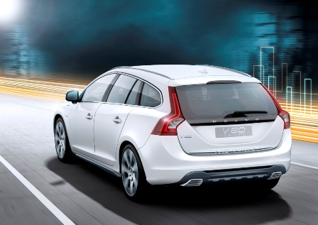 Volvo V60 Plug-in Hybrid-atras