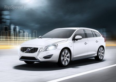 Volvo V60 Plug-in Hybrid-frente