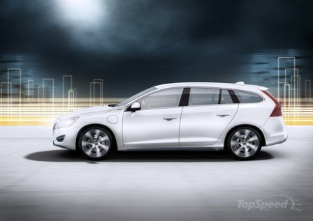 Volvo V60 Plug-in Hybrid-lateral