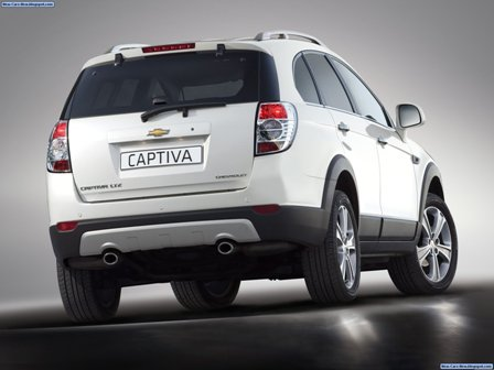 chevrolet captiva 2012-atras