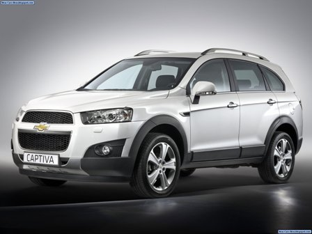 chevrolet captiva 2012-frente