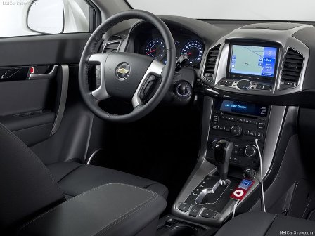 chevrolet captiva 2012-interior