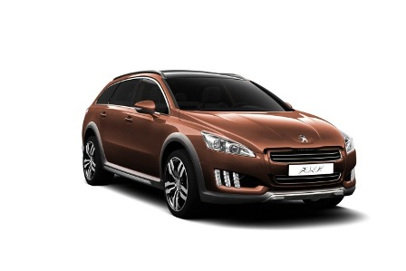 Peugeot 508 RXH-frente