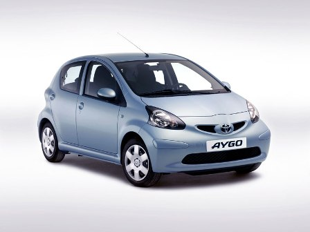 Toyota Aygo-frente