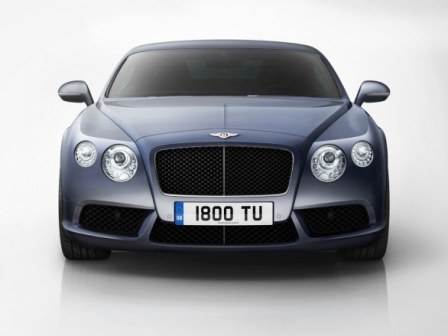 Bentley Continental GT y GTC V8-frente