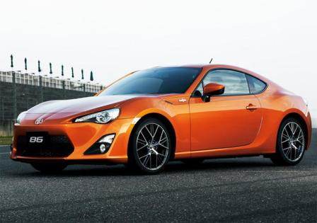 Toyota GT86-frente