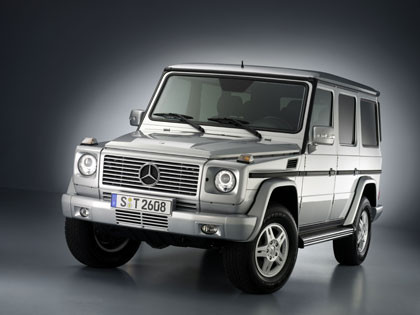Mercedes-Benz Clase G-frente